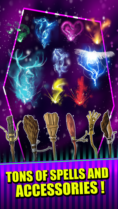 Create Your Wizard Dress Up - Harry Potter Edition screenshot two