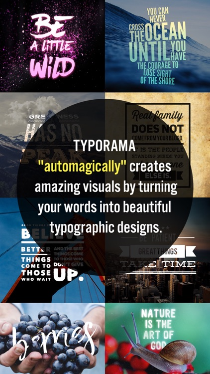 Typorama - Text on Photo Editor, Typography Maker app image