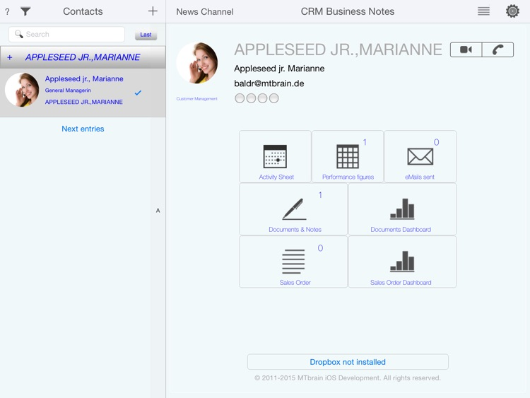 CRM Business Notes screenshot-0