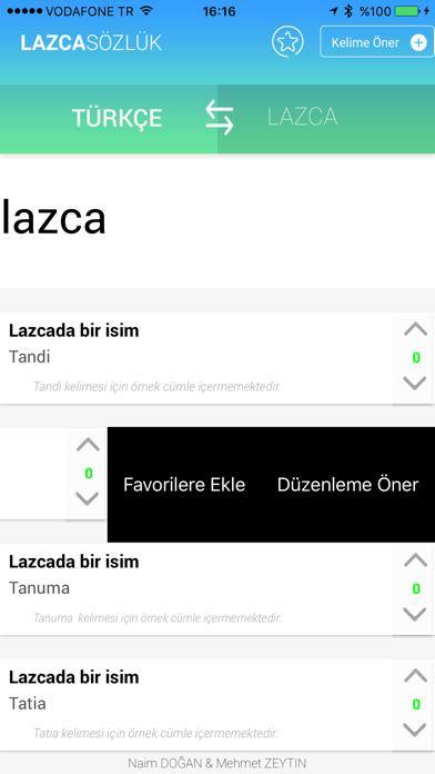 Lazca Sözlük screenshot three