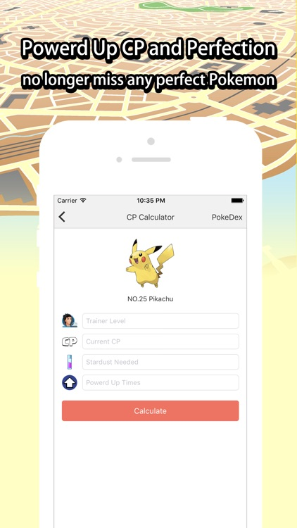 Poke CP Calculator for Pokemon Go  - Choose the Better Pokemon