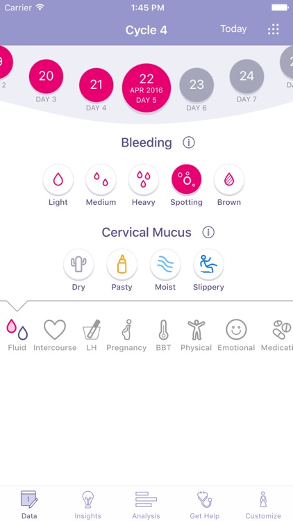 FEMM Period, Ovulation Tracker