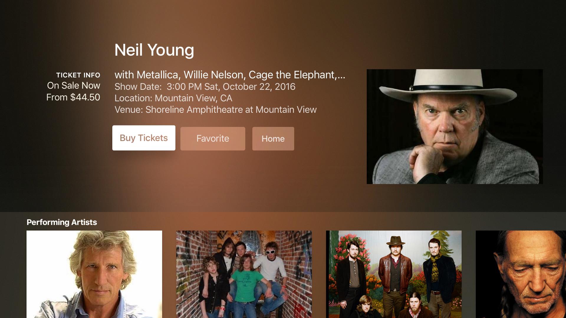 Thrillcall Live Music screenshot 7