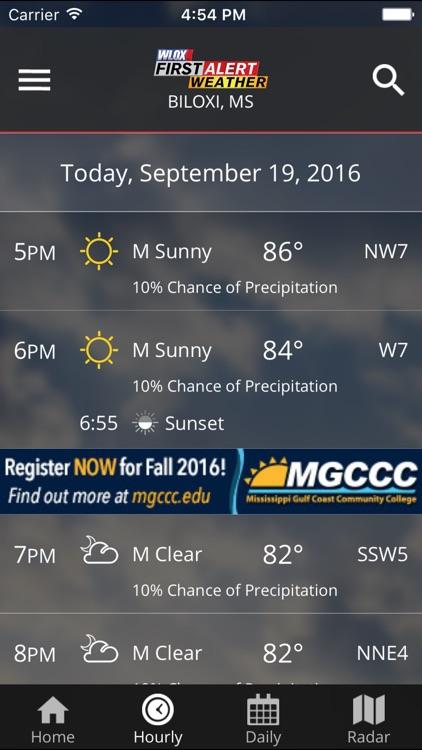 WLOX Weather screenshot-3