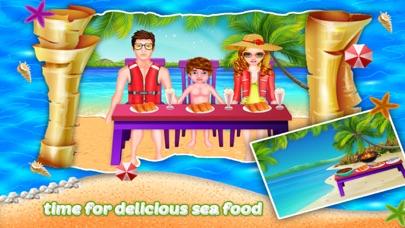 Kids Seaside Summer Vacations screenshot one