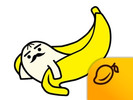 This is a sticker app of character PAPABANA, a banana boy