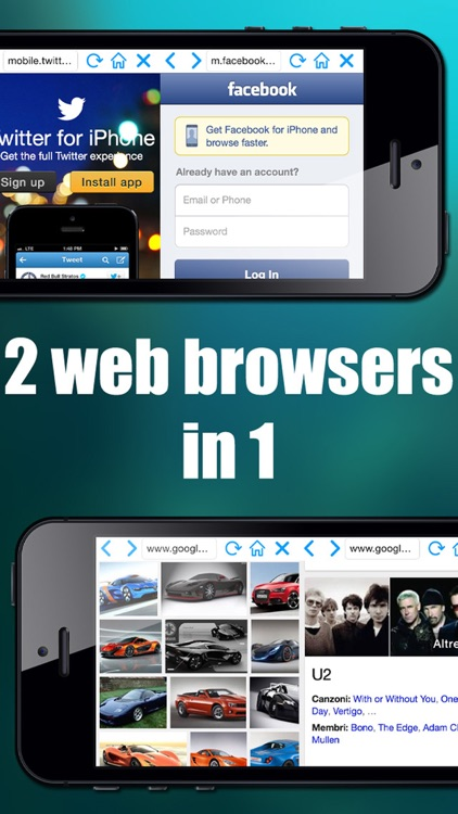 Double Browser ( 2 in 1 )