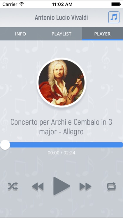 Antonio Vivaldi - Classical Music Full screenshot-3