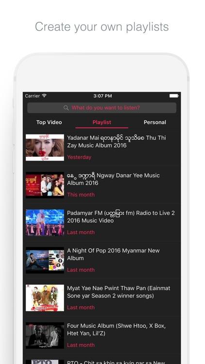 Myanmar Music Video screenshot-3