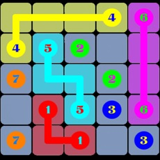 Activities of Number Puzzles:A Draw Lines  Decryption Free Game