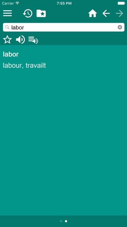 English-Portuguese Dictionary screenshot-3