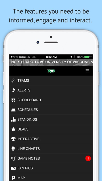 UND North Dakota GameDay screenshot-3