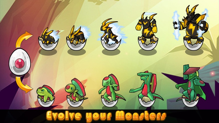Cutie Monsters Tower Defense-Cute Monster Stickers screenshot-3