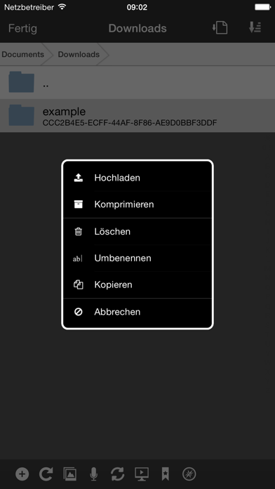 Screenshot for WebDAV Nav+ in Germany App Store