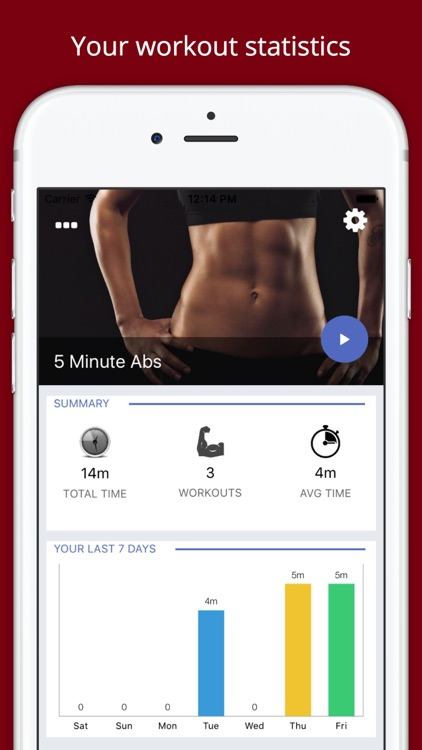 Abs Challenge Workout PRO - Build muscle screenshot-0