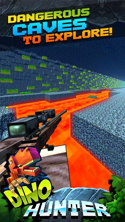 Wild Dino-saur Hunt-ing Survival Pixel