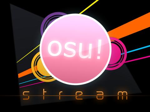 osu!stream на iPad