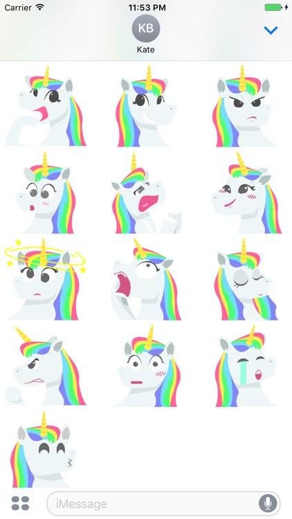 Unicorn Stickers Pack