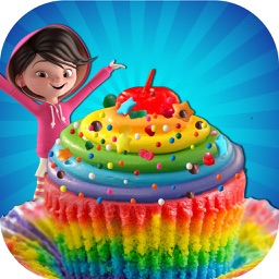 DIY Colorful Rainbow Cupcake Maker - Make & Bake Cupcakes With Bakery Chef