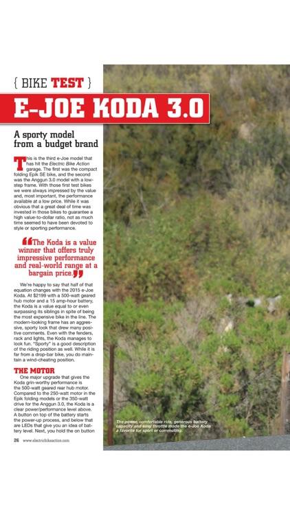 Electric Bike Action Magazine screenshot-4