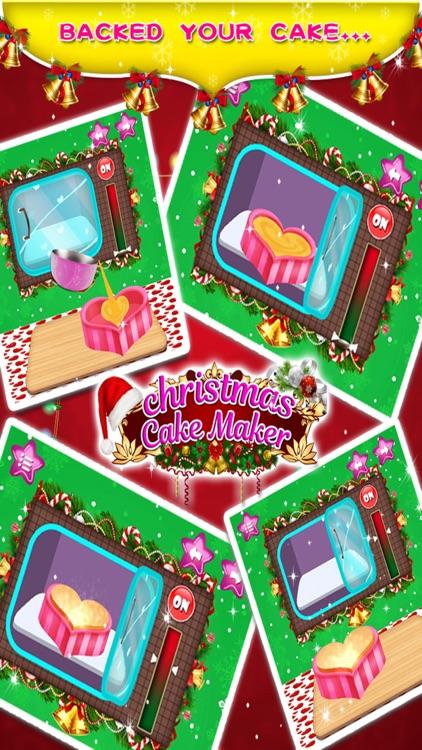 Christmas Birthday Cake Maker - Kids game for free