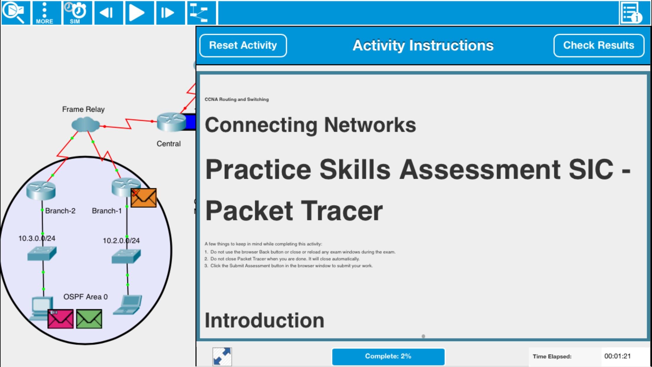 Cisco Packet Tracer Mobile Screenshot