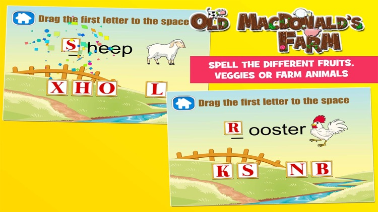 Old MacDonald had a Farm Games for Kids