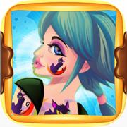爱画画的女孩:小公主的舞会沙龙女孩免费美容换装化妆游戏