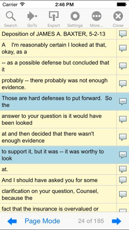 Cavalier Reporting Online screenshot-4