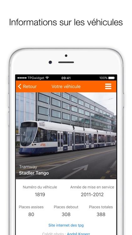 TPGwidget - raccourcis pour arrêts TPG screenshot-4