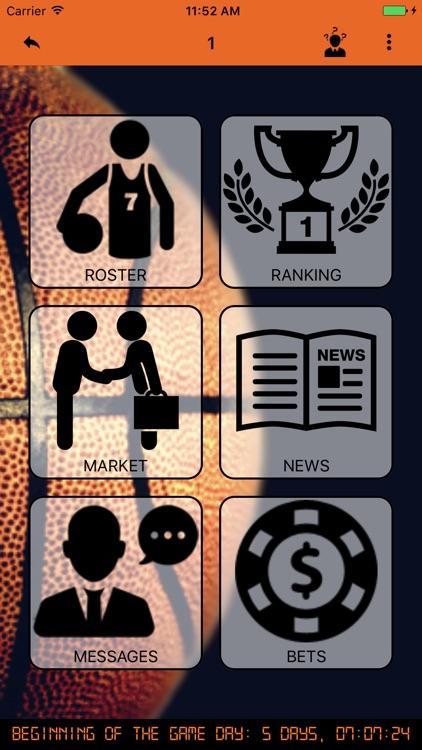 3 Basket Manager - Train your basket team