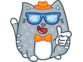 "Stickers ""Kitty"""