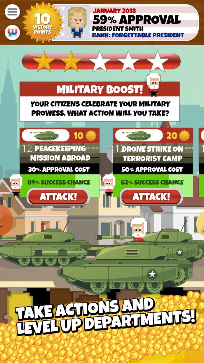 President Simulator Game Screenshot