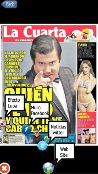 Entre Noticias Chile screenshot four