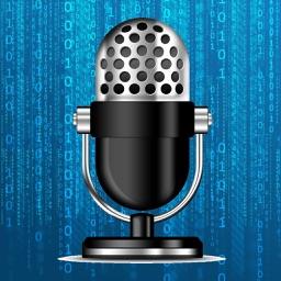 برنامج تسجيل مع تغيير الصوت - Voice Recorder