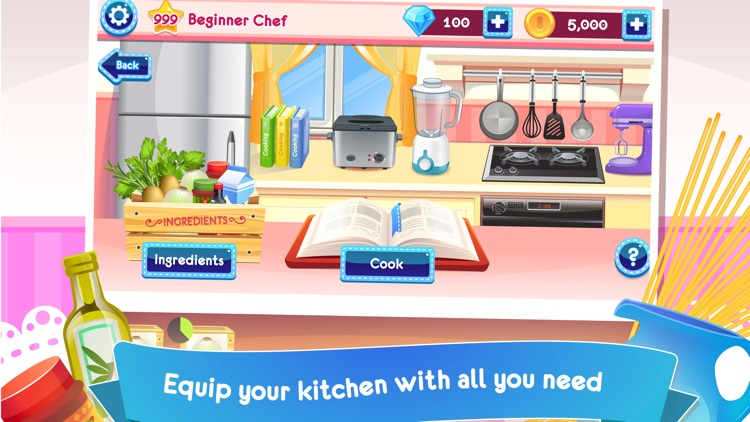 Cooking Story Deluxe - Fun Cooking Games screenshot-3