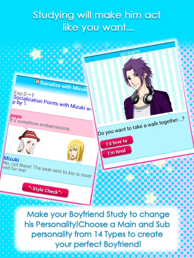 how to change a player into a boyfriend