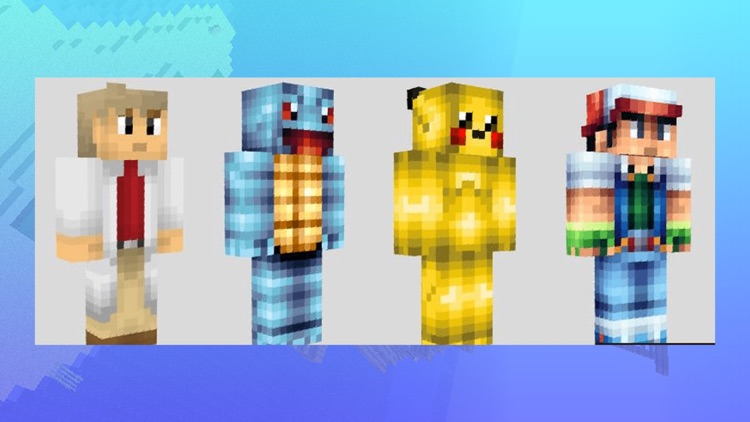 Poke Skins for Minecraft - Pixelmon Edition Skins