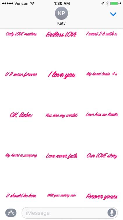 Handwritten LOVE Messages screenshot-3