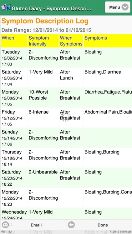 Gluten Diary screenshot-4
