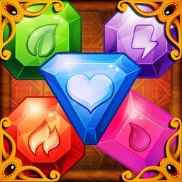 Gems Blast:Free fun action diamond match games