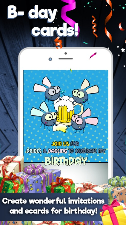 Happy Birthday Cards Maker – Create Best Free eCards and Invitation.s