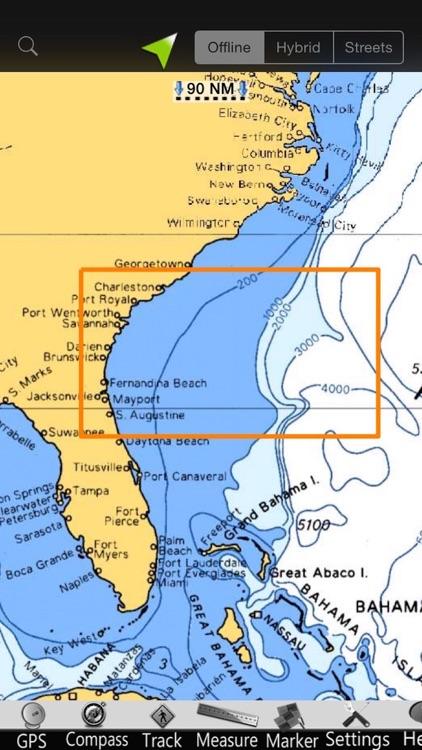 Georgia GPS Nautical Charts screenshot-4