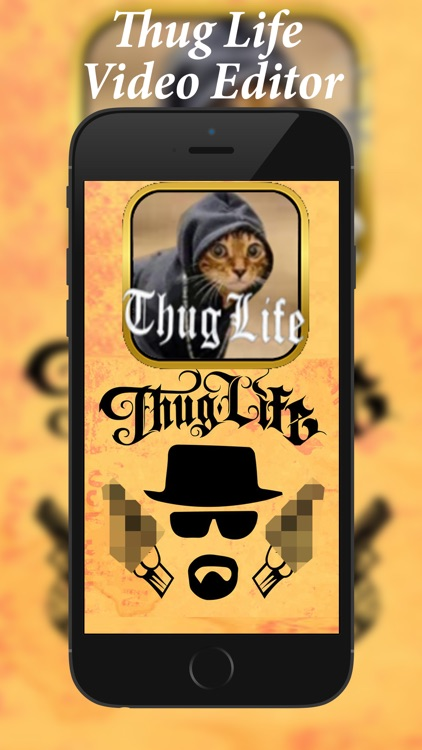 Thug Life Video Editor screenshot-0