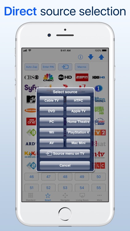 myTifi remote for Samsung TV screenshot-5