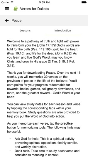 Scripture Memory Fellowship on the App Store