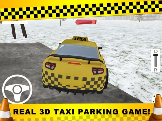 Parking CITY TAXI - Driver Sim screenshot 6