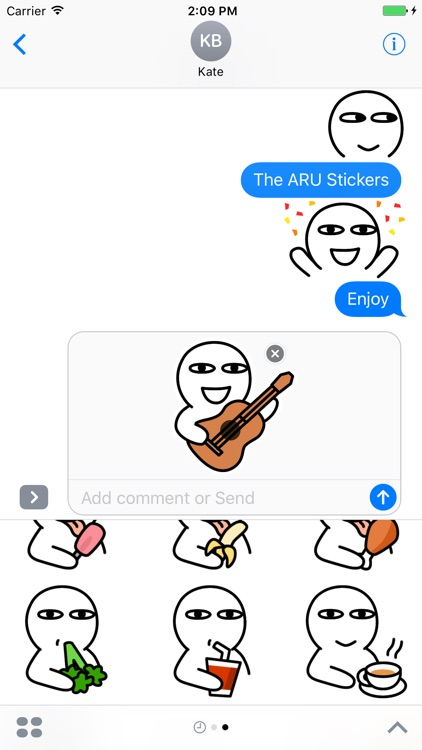 ARU Stickers