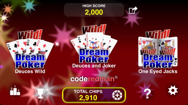 Wild Dream Poker - Deuces Wild screenshot-2