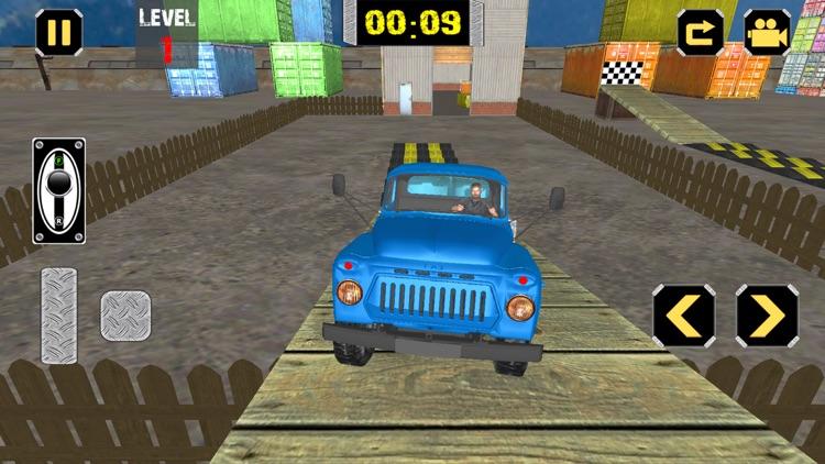 Cargo Transport Truck Agent 3D screenshot-4